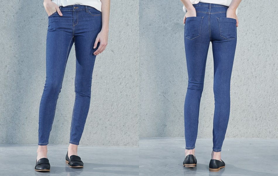 Choosing the right skinny jeans for women